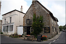 ST6601 : The Royal Oak Inn and Old Market House, 23 and 25 Long Street, Cerne Abbas by Jo Turner