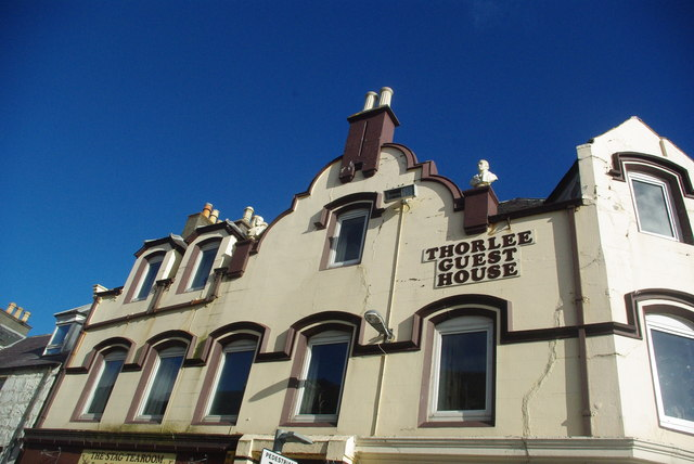 Facade of Thorlee Guest House