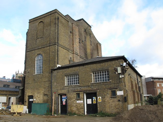 The (former) Pump House, New River Head