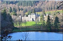 NT4227 : Bowhill and the Upper Lake by Jim Barton