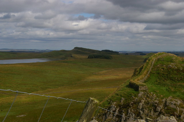 Hadrian's Wall at Cuddy's Crags