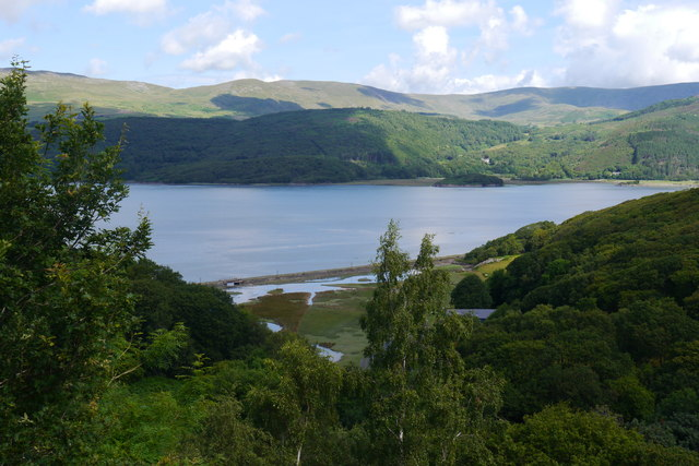 View towards the Mawddach Estuary from Graig Wen