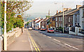 SO0308 : Cefn-y-Coed-y-Cymmer: High Street, 1990 by Ben Brooksbank