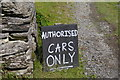 SH6515 : Authorised cars only by Phil Champion
