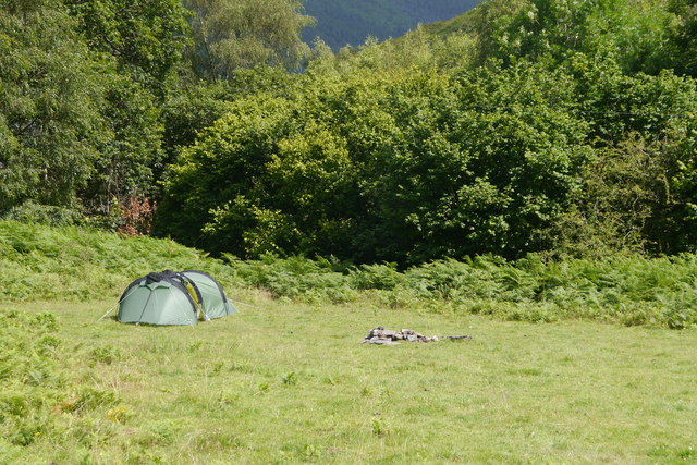 Camped at Coppice Corner