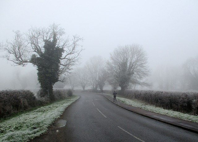 Nearing Grantchester in January