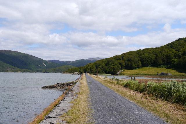 The Mawddach Trail near Garth Isaf
