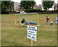 SJ9593 : Penalty Shoot out at Gee Cross Fete 2003 by Gerald England