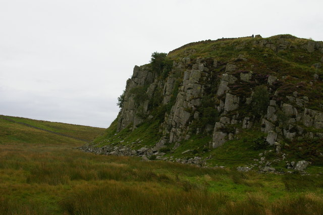West end of Peel Crags