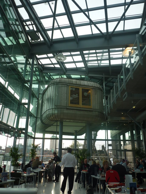 Sunderland Architecture : The Cafe At The National Glass Centre, Sunderland
