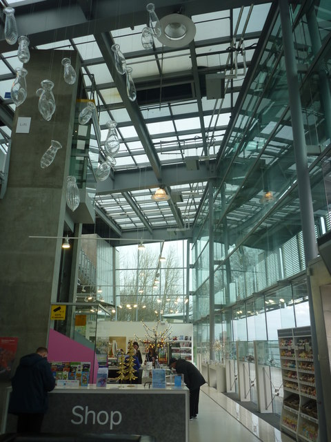 Sunderland Architecture ; The Shop At The National Glass Centre