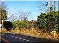 ST3190 : Yellow grit box alongside Brynglas Road, Newport by Jaggery