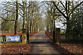 SE3357 : Gate Entrance to Bilton Hall by Chris Heaton