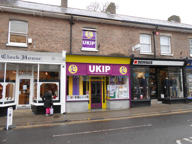 UKIP office Dorchester