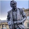 SE1416 : Harold Wilson Statue, St George's Square by David Dixon