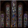 TQ8009 : East window, Christchurch St Leonards by Julian P Guffogg