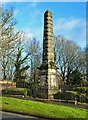 NS7157 : The Covenanters' Monument at Bothwell Bridge by Mary and Angus Hogg