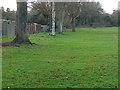 SU9653 : Worplesdon sports ground by Alan Hunt