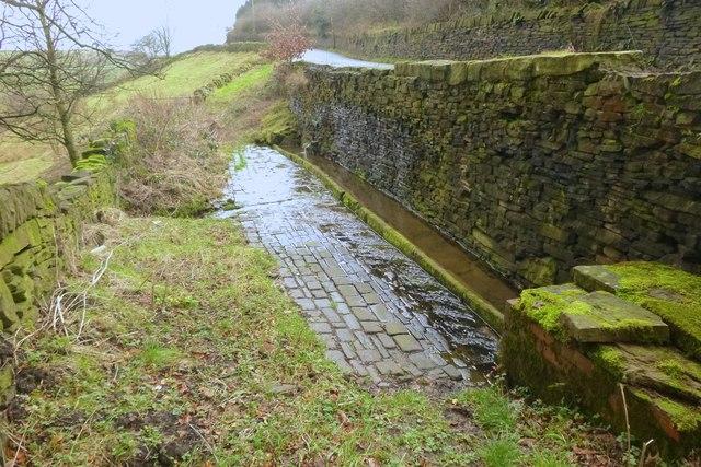 Horse trough on Cartworth Road, Holmfirth