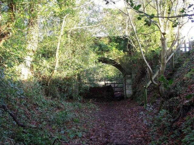 Overbridge on the 1847 Caldon Low tramroad