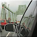 SJ5183 : Standing traffic on The Bridge by Gerald England