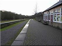 SK1373 : The former Miller's Dale railway station by Steve  Fareham