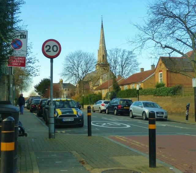 St. John's Road, Putney