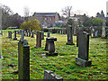 NY4656 : Graveyard at St Leonard's Church by Rose and Trev Clough
