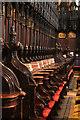 SK9771 : Choir stalls by Richard Croft