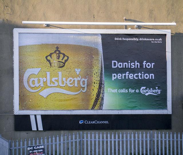 'Carlsberg' advert, Bangor