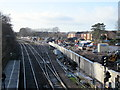 SO9669 : Bromsgrove Station Works January 2015 by Roy Hughes