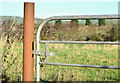 J4371 : Cast-iron gatepost near Dundonald (January 2015) by Albert Bridge