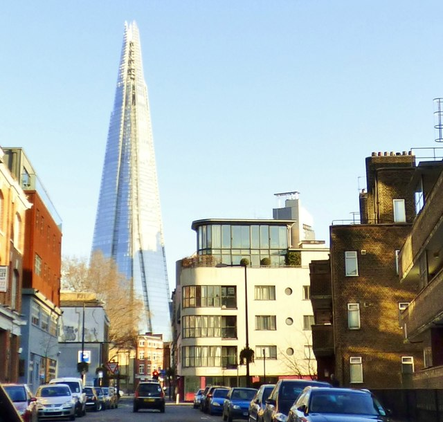 The Shard from the west