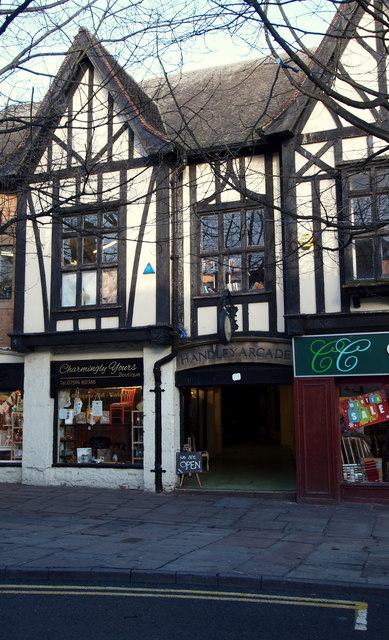 Handley Arcade, Mansfield, Notts.