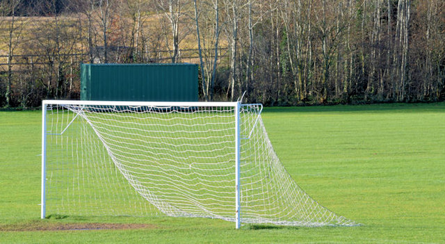 Goalposts, Dundonald (January 2015)