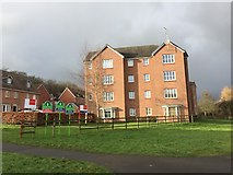 SJ8545 : New housing development in Lyme Valley by Jonathan Hutchins