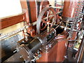 SK2625 : Claymills Victorian Pumping Station - barring engine by Chris Allen