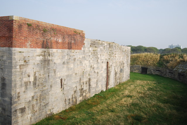Moat and Wall, Southsea Castle