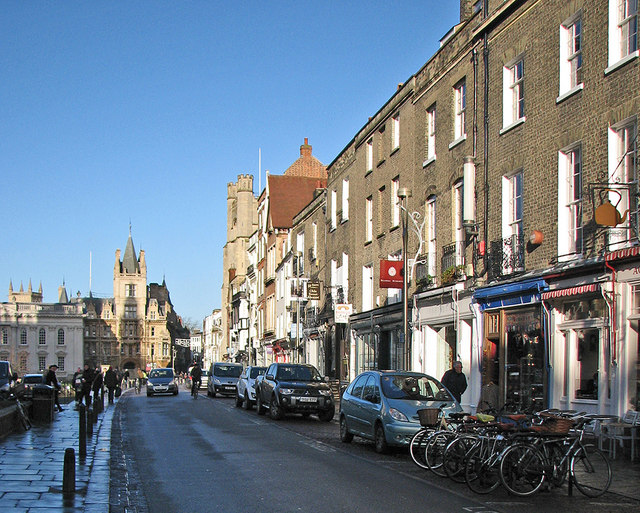 A January afternoon on King's Parade