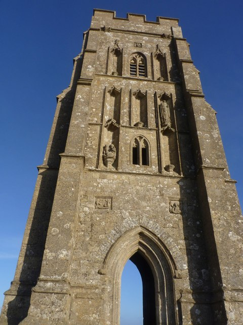 St Michael's Church Tower, The Tor, Glastonbury