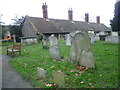 TQ3786 : Leyton United Almshouses seen from Leyton Churchyard by Marathon