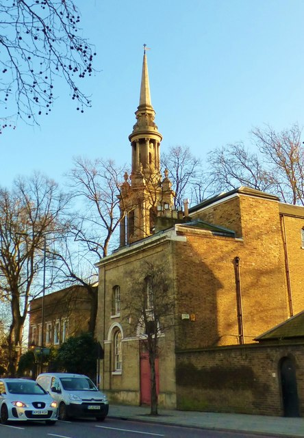 St. Paul's, The Highway, East London