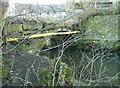 SE0720 : Bridge carrying Gate Head Lane over the Black Brook by Humphrey Bolton