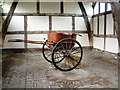 SJ6780 : Cart in a barn by Gerald England