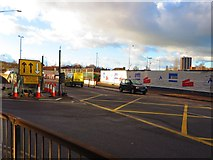 SP3378 : Major road works, Warwick Road, Coventry by John Brightley