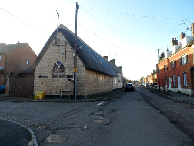 Main Street and Sunday School, Tingewick