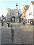 TR1458 : Restoration of the West Gate by John Baker