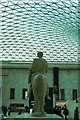 TQ3081 : Equestrian statue, British Museum by Julian Osley