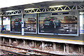 TQ8109 : Advertisement boards, Hastings Station by Oast House Archive