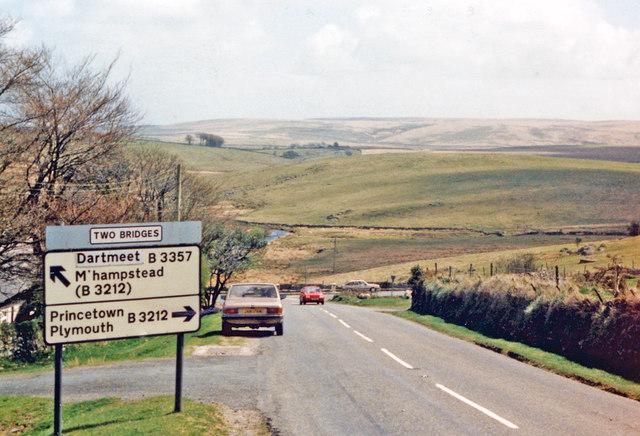 Two Bridges, Dartmoor 1987